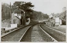 Cambrian Railways, Talerddig.