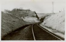 Cambrian Railways, Talerddig Cutting