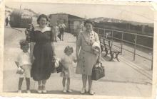 The Big Apple on Aberavon Beach Promenade 1950