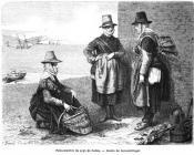 Welsh Costume: Erny, Fish women, 1862