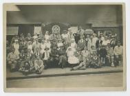A photograph of staff at St. Johns Hospital,...