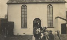 The Providence Baptist Chapel at Cwmdu.