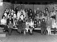 The children in Fancy Dress at Talley School.