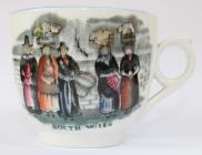 Welsh Costume china, cup