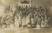 Group of Women in Welsh Dress