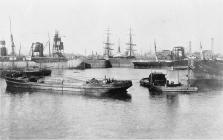 Cardiff docks.