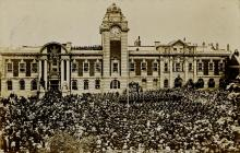 Proclamation of King George V at Barry Town Hall