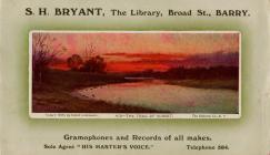 Business Card for S. H. Bryant, The Library,...