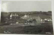 Aberthin Village