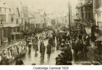 Cowbridge Carnival 1920