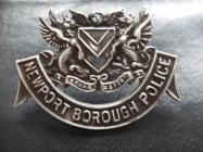 Newport County Borough Police insignia