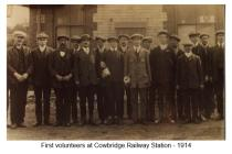 First volunteers 1914