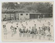 Group of Children at a Swimming Pool.
