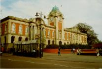 Barry Town Hall and Barry Library, King Square,...