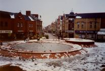 King Square in the Snow.