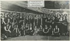 Penarth Ladies Choir, Eisteddfod, Wrexham, 1935.