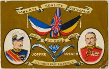 French First World War Postcard.