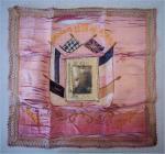 Embroidered souvenir. Evan Jones. Criccieth....