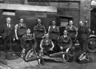 Elliots colliery ,Rescue team members