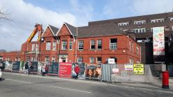 Park Place Cardiff Nos 47-48 Demolition 2 Feb 2018