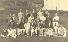 Aberystwyth University cricket team 1909