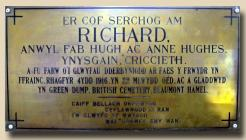 Royal Welsh Fusiliers Plaque for Private...