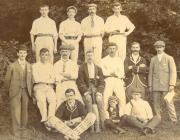 Clwb Criced Y Bont Faen 1901