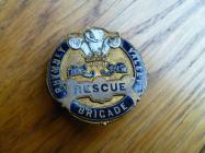 New Tredegar,Colliery, rescue enamelled badge