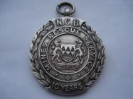 10 years rescue service medal awarded ,to a...