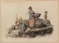 Welsh Costumes, Pyne, Welsh Peasants Washing,...