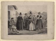 Welsh Costume:  Welsh Costumes, Jones, 1851