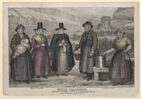 Welsh Costume: Welsh Peasantry, Anon, 1850