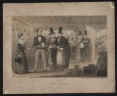 Welsh Costumes, Newman (large) no. 4, 1850s