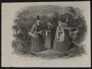 Welsh Costume: Welsh costume, Humphreys, 1850