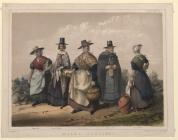 Welsh costume prints Box 4