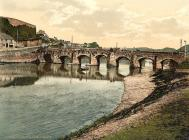 Carmarthen old bridge.. circa 1900
