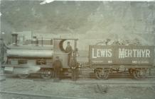 Coal train from Lewis Merthyr Colliery in Trehafod