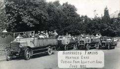 A charabanc was a popular alternative to...
