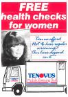 Tenovus Mobile Screening Unit leaflet