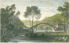 Pontypridd's Old Bridge by Henry Gastineau...