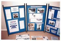 Tenovus Cancer Care information stand