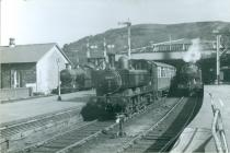 Train to Ynysybwl 1952