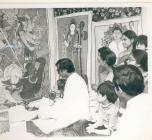 Hindu Durga Puja celebrated in Wales in 1972