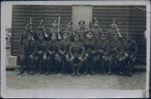 Group Photograph with Pte Joshua Harries in...