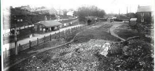 Brynamman West Station (Great Western) c 1912