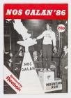 Nos Galan, Programme, 1986