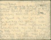 Postcard from Louis Thomas to his brother,...