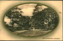 Unsigned postcard to William Benjamin Thomas,...