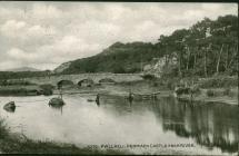 Postcard from Catherine Ann Thomas, Rhydyclafdy...