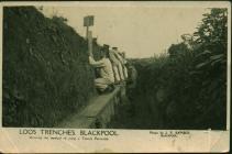 Postcard perhaps from Catherine Ann Thomas,...